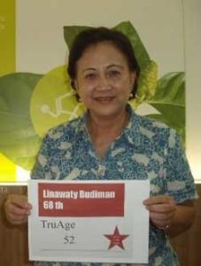 Ibu Linawaty Budiman TruAge Success Story