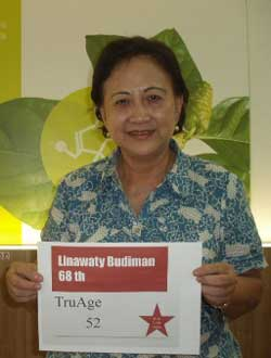 Ibu Linawaty Budiman TruAge Success Story